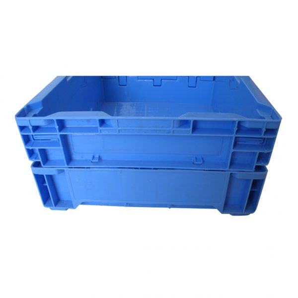 clever collapsible storage bin with lid