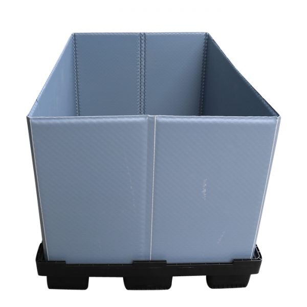 collapsible pallet crate