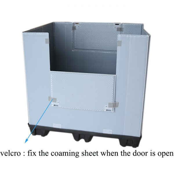 collapsible rolling crate