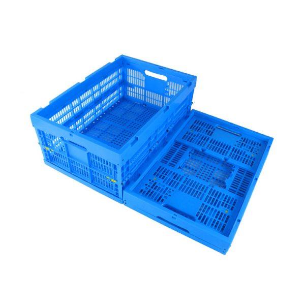 folding plastic storage bins