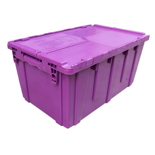 large clear plastic totes
