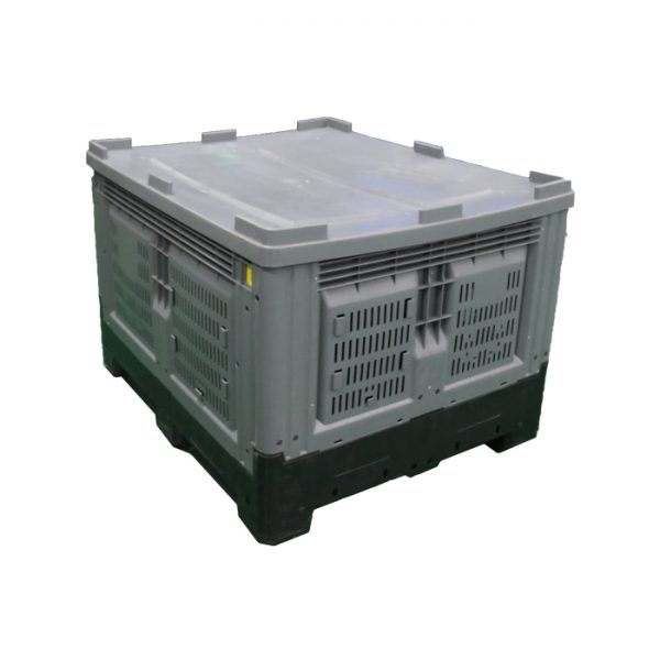 plastic storage pallet box container