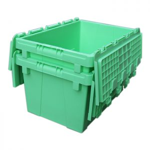 tall storage bins with lids